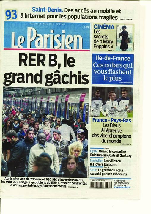 La une du Parisien